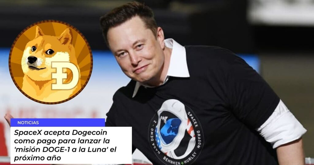 SpaceX acepta Dogecoin